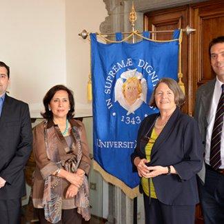 Ricerca: borsisti dell'Argentina all'Università di Pisa